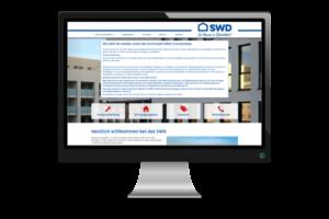 Webseite SWD